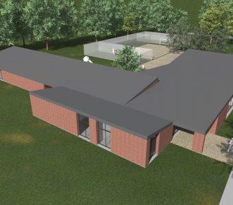Construction d'une école spécialisée