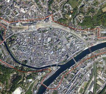 Centre-ville de Namur